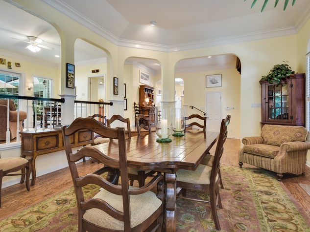 2400 Westlake Pass Austin house for sale dining room