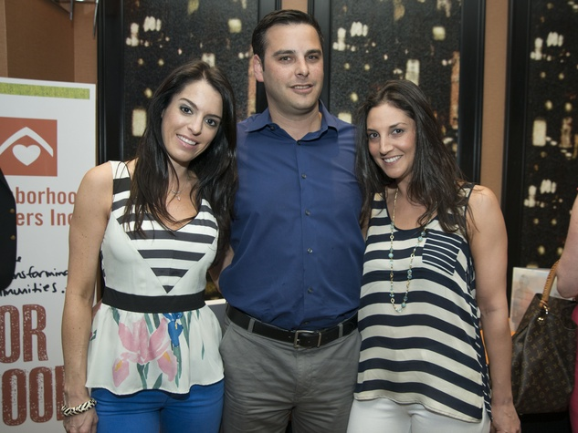 3 Houston Mixers on the Map at Hotel Derek May 2013 Danielle Markey, Adam Roberts, Lauren Daily
