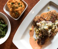 Revival Public House redfish dish sides 2015