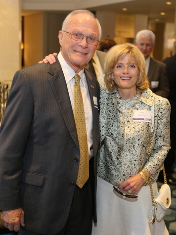 Lee Griffin and Ann Harrison at the LSU Foundation luncheon June 2014