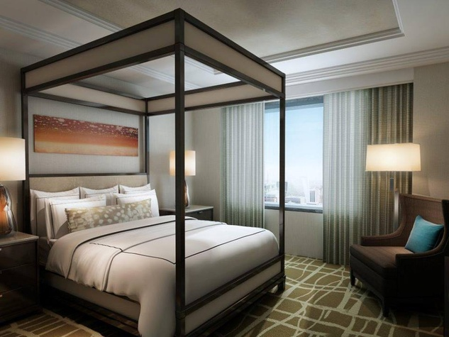 new presidential suite at Hilton Austin rendering for 2014