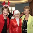 14 Cora Sue Mach, from left, Sidney Faust and Dr. ZoAnn Dreyer at Santa visits Texas Children's Cancer Center December 2014