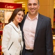 Samar Tarazi and Jason Nasra at the Alley Young Professionals event October 2013