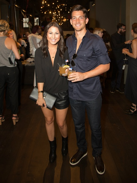 Chelsea Parker, Zachary Shumway at Traffic LA
