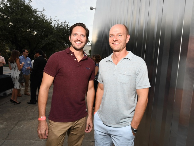 Contemporary Arts Museum YPs, 8/16, Chris Roberts, Danny Schwarzer