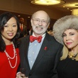 36 Mia Shay, from left, C.C. Conner and Carolyn Farb at the World AIDS Day luncheon.
