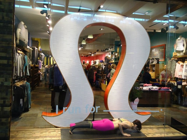 Lululemon Athletica at NorthPark Center in Dallas
