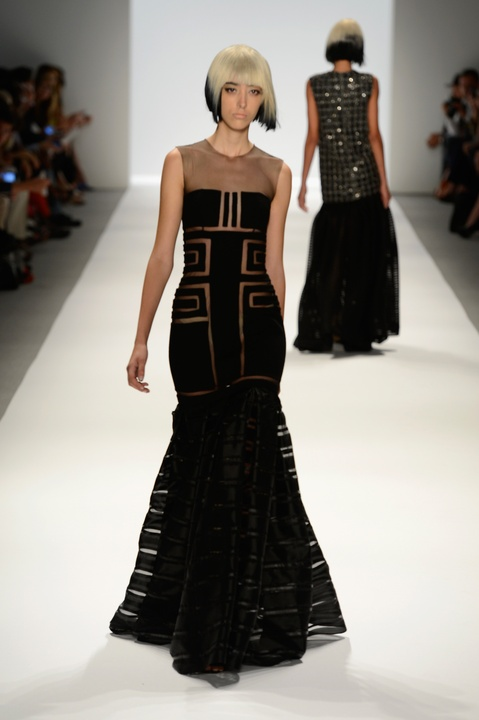 Carmen Marc Valvo gown spring collection 2014