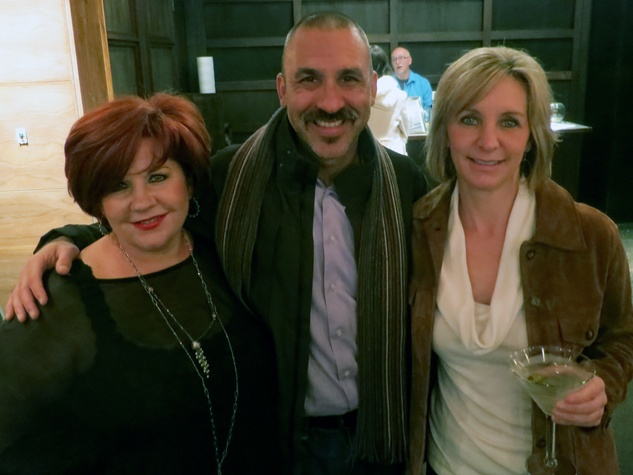 Kathy Bartlett, from left, Sunjay Arya and Ria Van Dright at the Rescued Pets Movement launch party at Ibiza November 2013