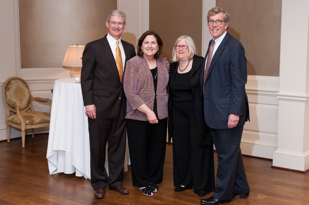 197 Larry and Naomi Foote, from left, and Kathy and Ed Segner at the River Oaks Chamber Orchestra Gala September 2014