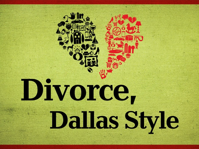 Dallas divorce graphic