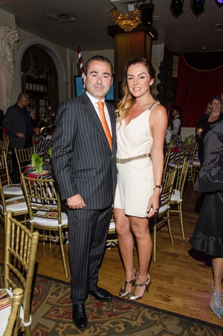 51 Rafael Chavez and Carmina Zamorano at the Be An Angel Gala May 2014