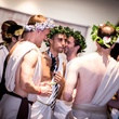 5 Party-goers at the Bering Omega Toga Party July 2014