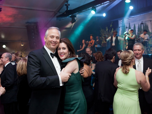 6 Bobby and Phoebe Tudor at Gala on the Green February 2014