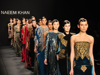 Fashion Week fall 2013, Naeem Khan, February 2013