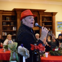 Bubba McNeely at Bubba and Mark's Christmas Party December 2014