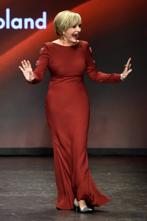 Florence Henderson at American Heart Association's Go Red For Women Red Dress Collection 2016