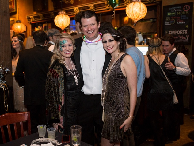 11 Whitney and Trey Miller, left, with Maudie Werlin at the TIRR party January 2015