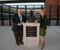 News, Shelby, John Eddie Williams Statue event, Nov. 2015