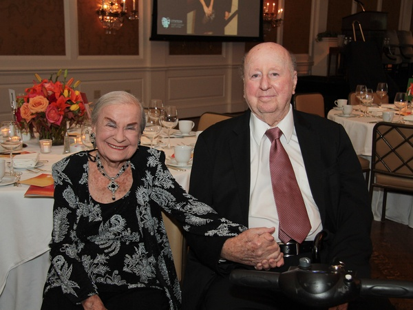 Baylor Friends dinner, October 2012, Maria Mitchell Ballantyne, George Mitchell
