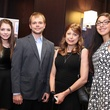 3 Kaitlyn Schuetz, from left, Brandon Schuetz, Paula Schuetz and Megan Schuetz at the Ovarcome Gala May 2014