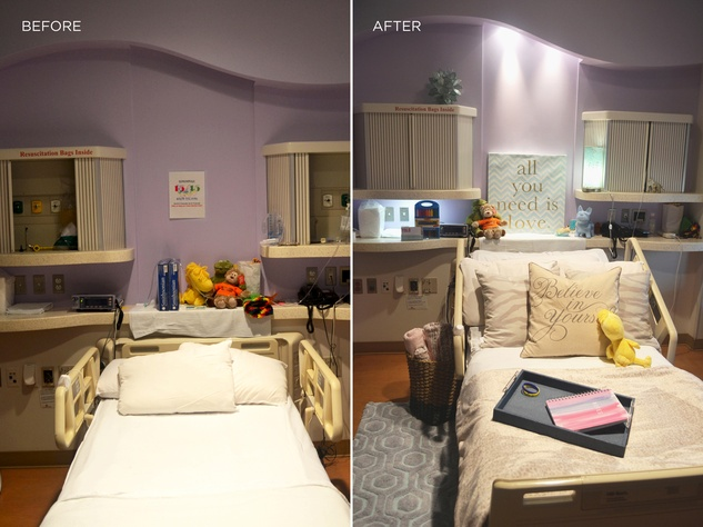 Ashlina Kaposta and Dec My Room August 2014 before and after