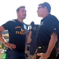 Rick Perry and Chris Soules from The Bachelorette