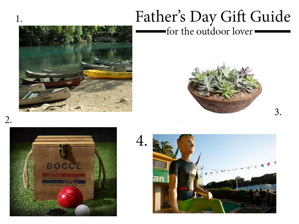 Father's day gift guide 2013 outdoors
