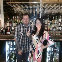 Triniti hosts guest bartenders in lounge January 2014 Brandon Ricks and Leslie Ross