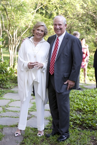 Shelley and Lew Brazelton at the Small Steps Wine Classic May 2014