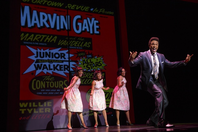 Jarran Muse as Marvin Gaye in Motown the Musical
