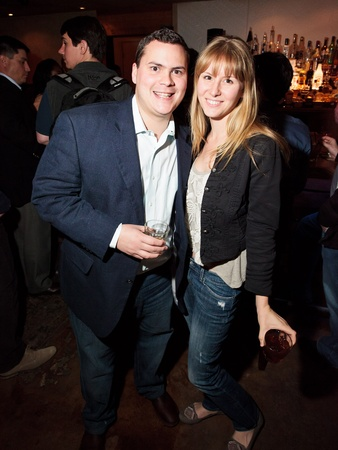 Reserve 101 anniversary party, January 2013, Chip Hight, Ashley Seddon