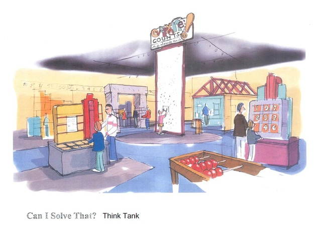 Fort Bend Children's Discovery Center January 2014 Think Tank rendering
