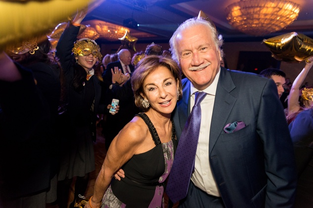 0664 Mimi and Larry Levine at the Cristo Rey Jesuit Gala January 2015