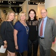 9 Julie Cushman, from left, Christy Cushman, Susie Criner and Lou Cushman at the Texas Contemporary Art Fair VIP opening party October 2013