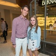 Jason Clayden and Lauren Clayden at the Decorative Center Houston Fall Market October 2014