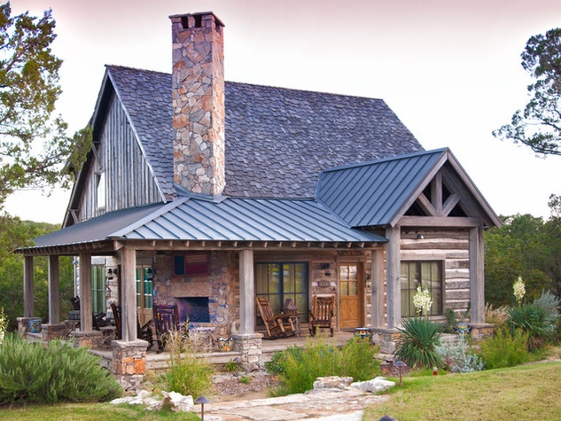 9 design tips to add rustic charm to your home for Rustic texas home plans