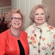 75 Georgnell Wimberly, left, and Phyllis Childress at the Houston Center for Contemporary Craft spring luncheon May 2014