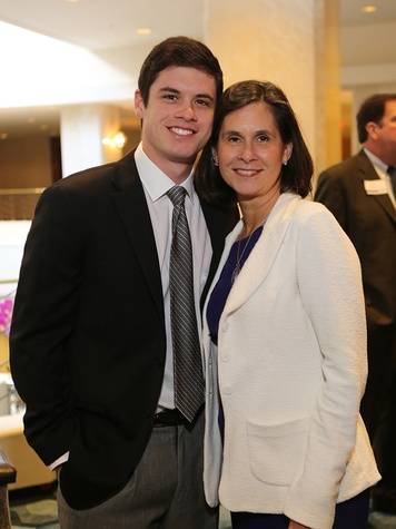 Jake and Narda Martin at the LSU Foundation luncheon June 2014