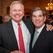 13 John Havens, left, and John Eads at the Men of Distinction kick-off party February 2014