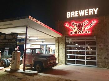 DFW burger genius creates cool new gas-station brewpub in Mansfield