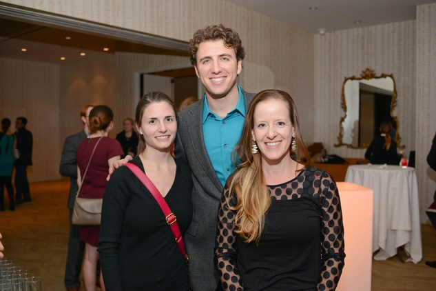 News, Shelby, Young Professionals Backstage, Nov. 2014, Hellen Weberpal, Matthew Roistein, Elise Wagner