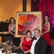 14 C.J. Alvarez, from left, Leticia and Steve Trauber and Katie Pryor at Heart Ball February 2015