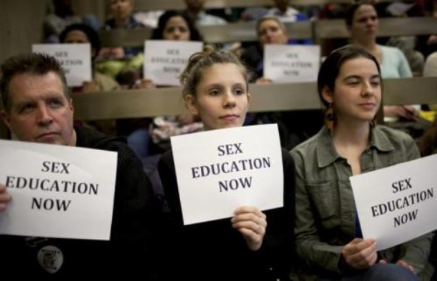 Austin Photo Set: News_Leila_sex education in schools_march 2012_signs