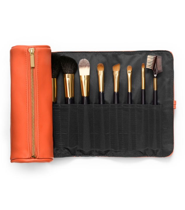 Tory Burch brush roll open