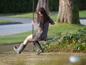 The Possession, girl, swinging