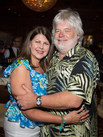 Astros Wives underwriter dinner, June 2012, Trish Perkin, Gregg Perkin