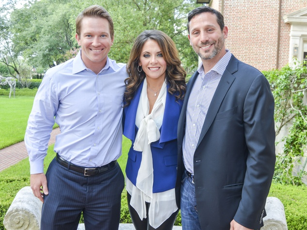 1 DePelchin Children's Center Gala kickoff Blake Warren, Joanna Marks and Brad Marks