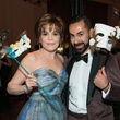 3 Hallie Vanderhider and Fady Armanious Masks at the Houston Ballet Ball February 2015