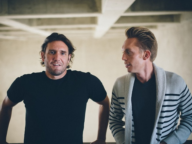 The Minimalists Ryan Nicodemus, left, and Joshua Fields Millburn